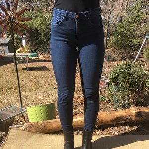 H&M skinny jeans, size 4